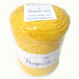 Twisted cotton nº3- Yellow