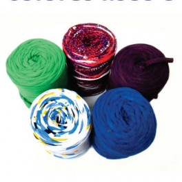 T-Shirt Yarn Pack 5 rolls 400gr