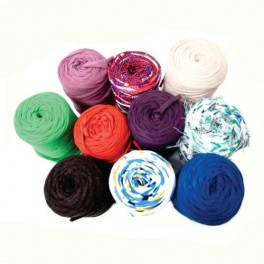 T-Shirt Yarn Pack 10 rolls 400gr