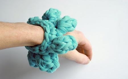 Original accessories with T-Shirt yarn