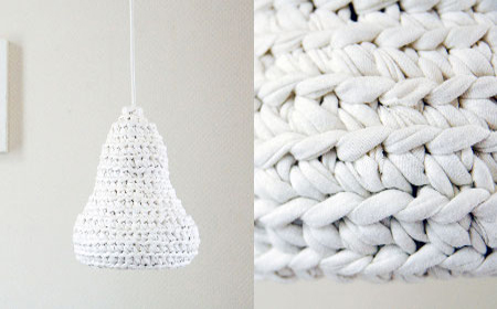 6 ideas to decorate with T-shirt yarn
