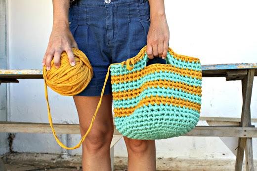 Crochet bags schemes