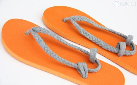 How to restore sandals step by step